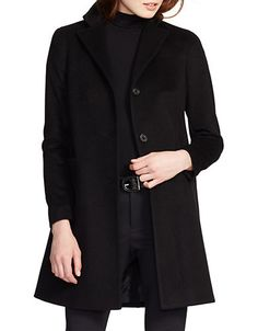 Two-Button Short Coat | Lord and Taylor