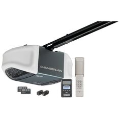 CHAMBERLAIN MYQ WD962KEV 3/4HP MyQ(R) Enabled Belt Drive Garage Door Opener with Battery Backup