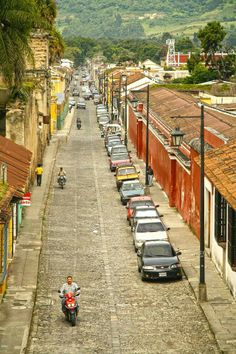 Las Calles de mi Antigua Guatemala.