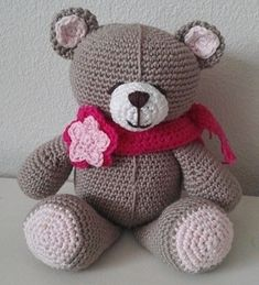 Forever Friends beertje Diy And Crafts, Teddy Bear, Knitting, Toys, Crochet, Data, Animals, Friends, Crochet Dolls