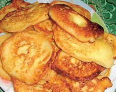 Tvarohové lievance | Recepty.sk Pancakes, French Toast, Cooking Recipes, Breakfast, Easy, Per Diem, Food Recipes, Pancake, Chef Recipes