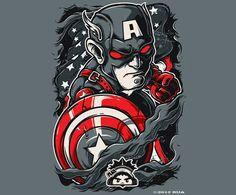 Sala7design: Angry Avengers