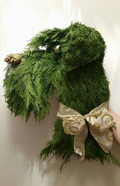 Schnauzer wreath