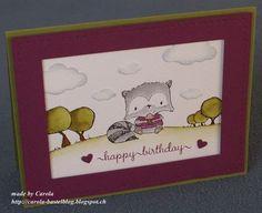 Purple Onion designs: card by  Carola Dolder