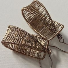 #tbt silver and gold-filled woven earrings made in 2013. #… | Flickr