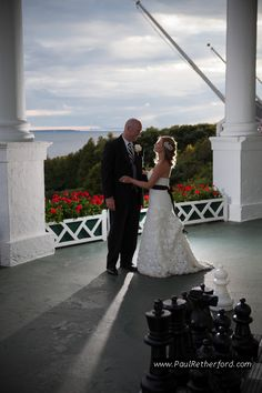 Grand Hotel Mackinac Island Wedding Photography | Northern Michigan | Sara and Kevin photo by Paul Retherford,  http://www.PaulRetherford.com #grandhotel #northernmichigan #mackinacisland #wedding