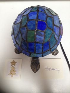 Turtle Tiffany Lamp From My Dear Friend Carol