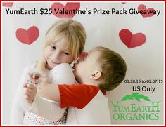 Enter YumEarth $25 Valentine's Prize Pack Giveaway! {Ends 02/08} WONDERFUL GIVEAWAY! Enter here http://go.shr.lc/1A0j6tX For Your Chance To Win! YOU KNOW THAT I MOST DEFINITELY ENTERED THIS GIVEAWAY!!! I LOVE IT!!!!!!!!!!!! Thanks, Michele :)