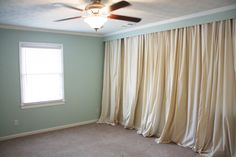 Step By How To Make A Draped Wall Someday I Will Do This In One Of My Places