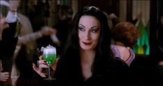 Anjelica Huston in The Addams Family.