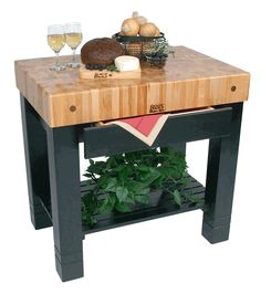 John Boos Homestead Butcher Block Island (13 colors) on sale Free Shipping US48