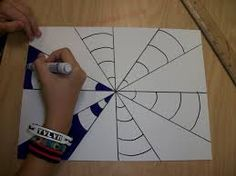 Make this Op Art Heart with step-by-step instructions. Send some Heart Art for Valentines. Illusion Kunst, Illusion Art, Illusion Drawings, Classe D'art, Art Texture, 6th Grade Art, School Art Projects, 3d Art Projects, Art Lessons Elementary