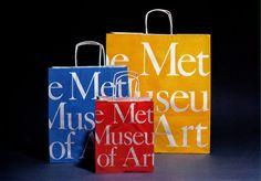The Metropolitan Museum of Art shopping bags.  A classic.