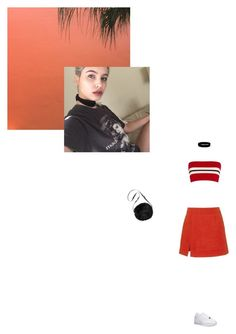 """Campari"" by olivetone on Polyvore featuring Urban Renewal, Etienne Deroeux, NIKE and Isa Arfen"
