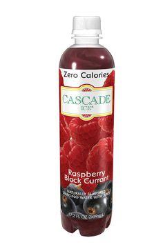Zero-calorie Raspberry Black Currant Sparkling Water