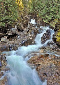 Deception Falls, Stevens Pass - Highway 2, WA- visited May 2012
