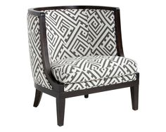 WALTERS ARMCHAIR - GEO GREY FABRIC - Occasional Chairs - Living - Products