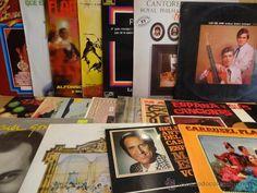 LOTE FLAMENCO. 18 LPS VARIADOS CON USO NORMAL /  CALIDAD MUY ACEPTABLE. VER FOTOS.