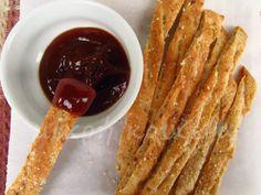 μικρή κουζίνα: Τα πιο εύκολα και γρήγορα κριτσίνια από ζύμη πίτας γύρου!