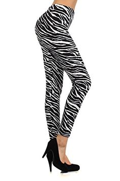 #Black and White Zebra print Extremely comfy One Size fits all 92% Polyester / 8% Spandex