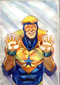 Booster Gold by Kevin Maguire and Josef Rubinstein