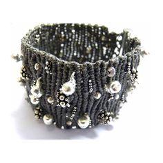 Silver bracelet nr. 236 by Ifat Nesher