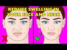 The 3 minute lymphatic massage techniques to reduce swelling in your face - the natural method Reduce Swelling In Face, Sante Bio, Lymph Fluid, Lymphatic Drainage Massage, Face Exercises, Lymph Nodes, Face Yoga, Acupressure Points, Health Tips