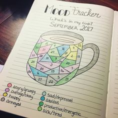 "66 mentions J'aime, 3 commentaires - Kathleen (@katsbujolife) sur Instagram : ""Filled in mood tracker for September! The month sure did fly by! #bulletjournal…"""