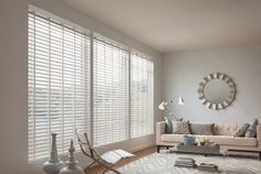 Graber Composite Double Bevel  Blinded by Delight installs beautiful Hunter Douglas window coverings & Graber blinds in San Antonio. Call 210-336-5266 today for more information!