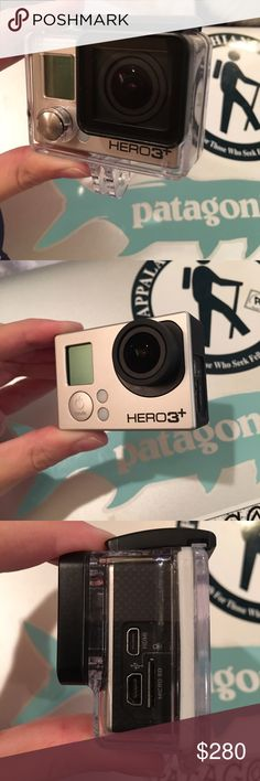 GoPro Hero 3+ silver edition (SOLD) Brand new (never even used) GoPro hero 3+ with waterproof housing and charger. No lowball offers! Other