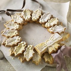 Holly Wreath Cookie Mould - From Lakeland