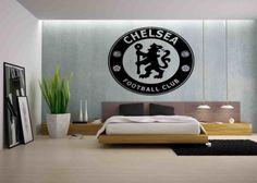 Chelsea Football, Chelsea Fc, Football Wall, Wall Decals, Wall Art, Sticker, Bedroom, Big, House