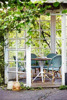 SOFIE kolorowe krzesła kawiarniane Salvie Green. Sika-Design
