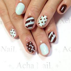 Instagram photo by achanail #nail #nails #nailart