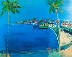 "Raoul Dufy, ""Bay of Angels"""