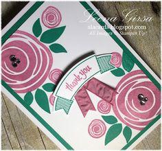 Stampin' Up! Swirly Bird, A La Cards: Swirly In-Colour Sneak Peek