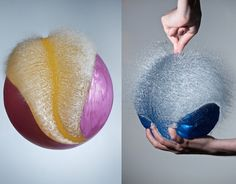 These are gorgeous, sensual and fun: Colorful Exploding Water Balloons by London-based photographer Edward Horsford - My Modern Metropolis