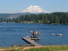 Washington state in the summer!