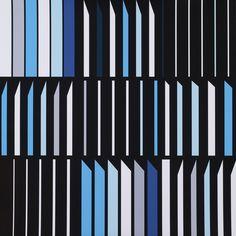 Sarah Morris     Banco Aliança   •  2014 Serigrafia Edição: 45 Sem moldura  •  75 x 75 cm