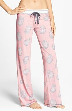 PJ Salvage 'Girly Skull' Pants