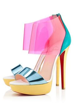Amazing, real summer shoes - Christian Louboutin heels