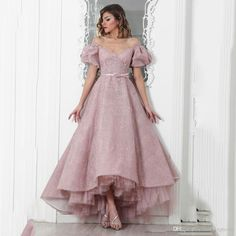 Cheap dubai evening dresses, Buy Quality beaded formal dresses directly from China evening dress pink Suppliers: 2017 Sexy Lace Beaded Formal Dresses Vintage Dubai Evening Dress Pink Off The Shoulder A Line Ankle Length Elegant Party Dress Ball Gowns Evening, Women's Evening Dresses, Prom Dresses, Formal Dresses, Evening Gowns With Sleeves, 1950s Dresses, Birthday Outfit, Birthday Dress Women, Dress Outfits