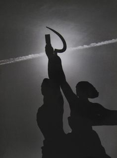 SERGEI BORISOV (*1947)  THE SUNSET, 1988 VERSO: SIGNED, TITLED AND DATED VINTAGE GELATIN-SILVER PRINT ON KODAK PAPER 40,5 X 30,5CM  LITERATURE: SERGEI BORISOV PHOTOGRAPHIES, EDITION LEV TOLSTOI PRINTING, TULA, RUSSIA, 1993