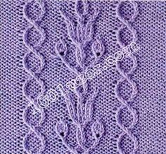 1001 pattern. Patterns spokes. Patterns of crossed loops, pattern 14