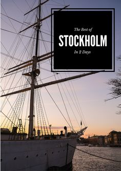 The Best of Stockholm in 2 Days - Eat Sleep Breathe Travel