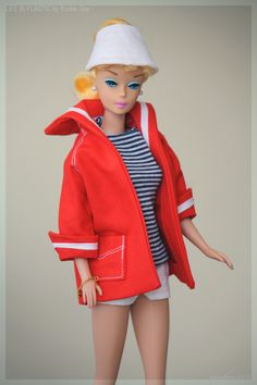 """Let's Play"" Barbie™ doll  wearing Resort Set #963 vintage repro fashion."