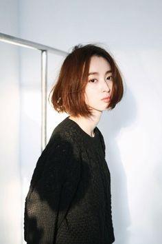 Model Rambut Bob Panjang Ala Korea Girl Hairstyles dd3b7ebba3