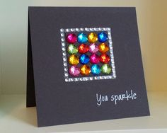 I wish somebody would give such a card! #diy #card