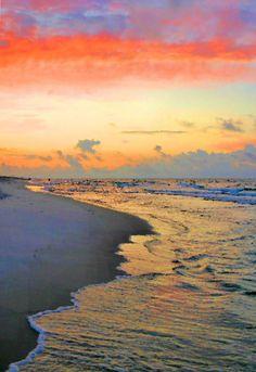 ✮ Sunrise on the Gulf - Alabama #AmericaBound and @Sheila Collette Farm