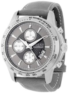 223cbda6a4a Gucci Men s YA126241 Gucci Timeless Anthracite Diamond Pattern Dial Watch  Gucci